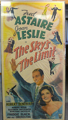 Fred Astaire Sky's The Limit Original Movie Poster 1943
