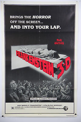 Andy Warhol's Frankenstein 3D Original Movie Poster
