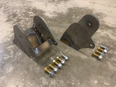 Motor Mounts: 1980-1997 Ford F250/350 to 12v/24v Cummins with 2nd Gen Bushings