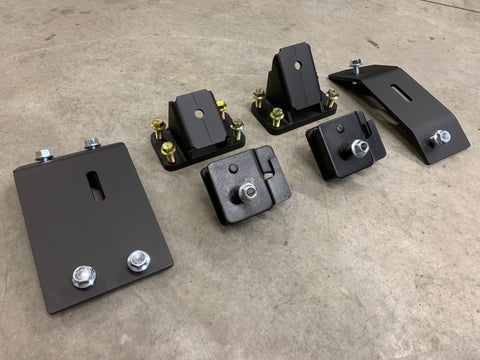 Cummins Motor Mounts: 1989-2002 12V and 24V Cummins