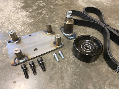 OBS Ford Cummins AC Compressor Mount