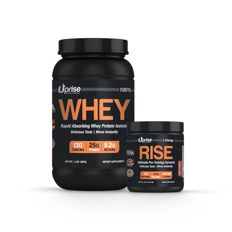 WHEY Protein & RISE Pre-workout
