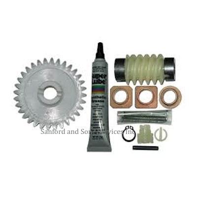 Linear Garage Door Opener Helical & Worm Gears