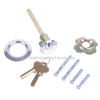 Garage Door Lock - Key Lock Rim Cylinder - Keyed Alike