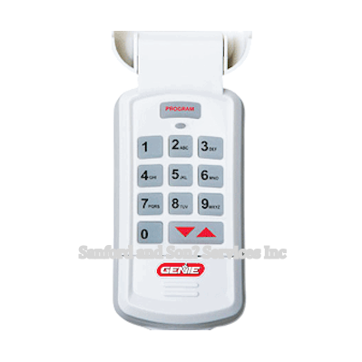 Genie Intellicode Garage Door Wireless Keyless Entry GK-BX