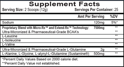 Chain'd Reaction™   BCAAs   Aminos   Recovery – APS Nutrition