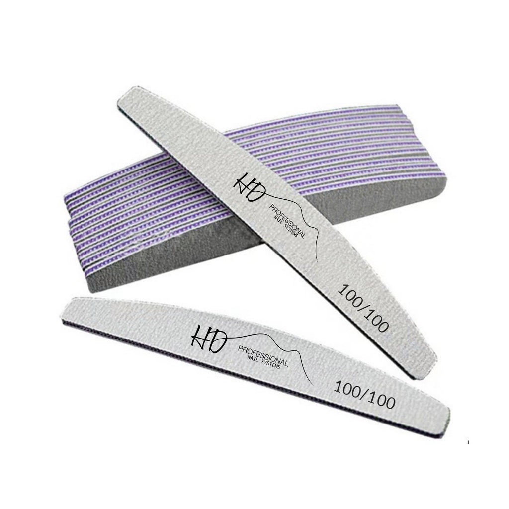 HD Pro 100/100 Grit Files