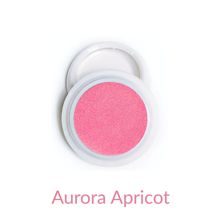 Candy Compact Chrome Powder - Aurora Apricot