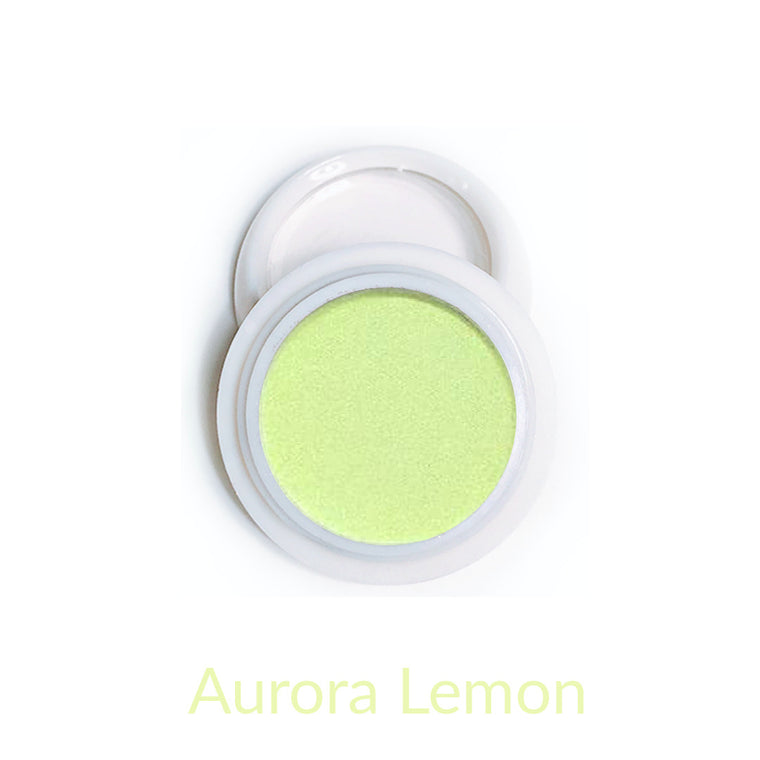 Candy Compact Chrome Powder - Aurora Lemon