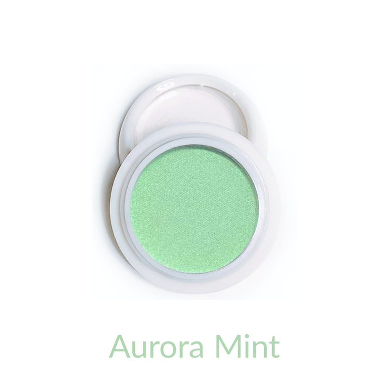 Candy Compact Chrome Powder - Aurora Mint