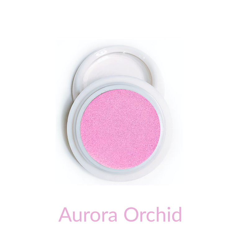 Candy Compact Chrome Powder - Aurora Orchid