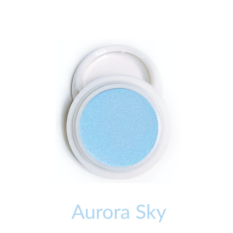 Candy Compact Chrome Powder - Aurora Sky