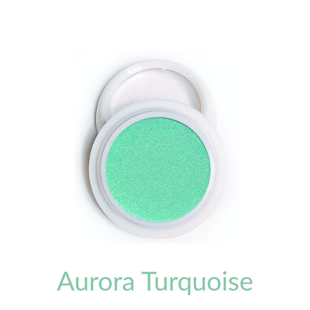 Candy Compact Chrome Powder - Aurora Turquoise