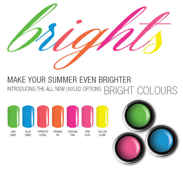 Options Colour Brights Gels