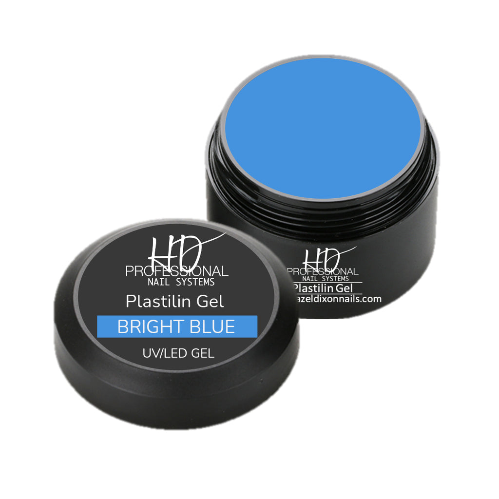 HD Pro Plastilin 3D Gel - Bright Blue