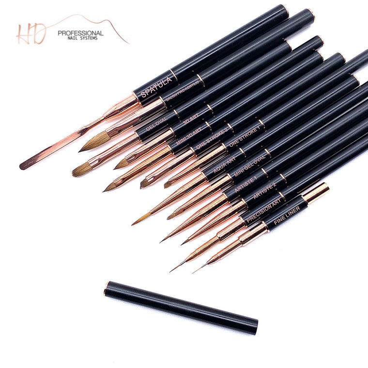 Salon Pro Brush Collection - RG