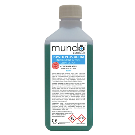 *NEW* Mundo Power Plus ULTRA Tool Disinfectant