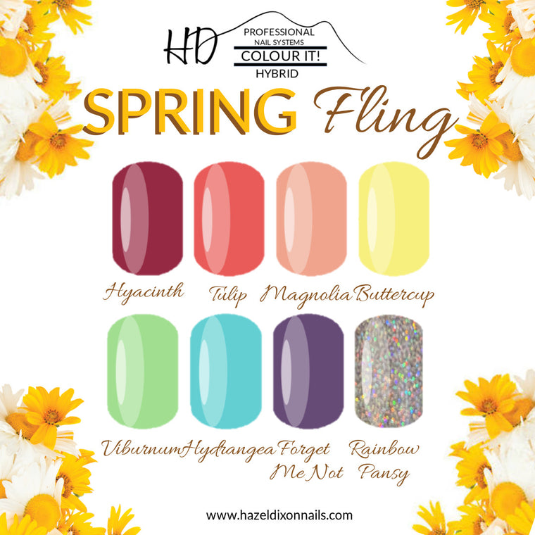 HD Colour It! HYBRID - Spring Fling Collection *NEW*