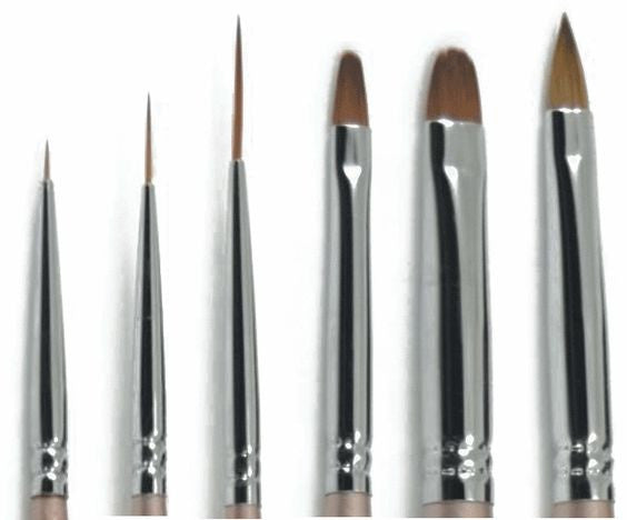 Akzentz Gel Art 8pc Complete Brush Collection