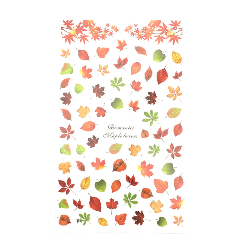 *NEW* Autumn Leaf Stickers