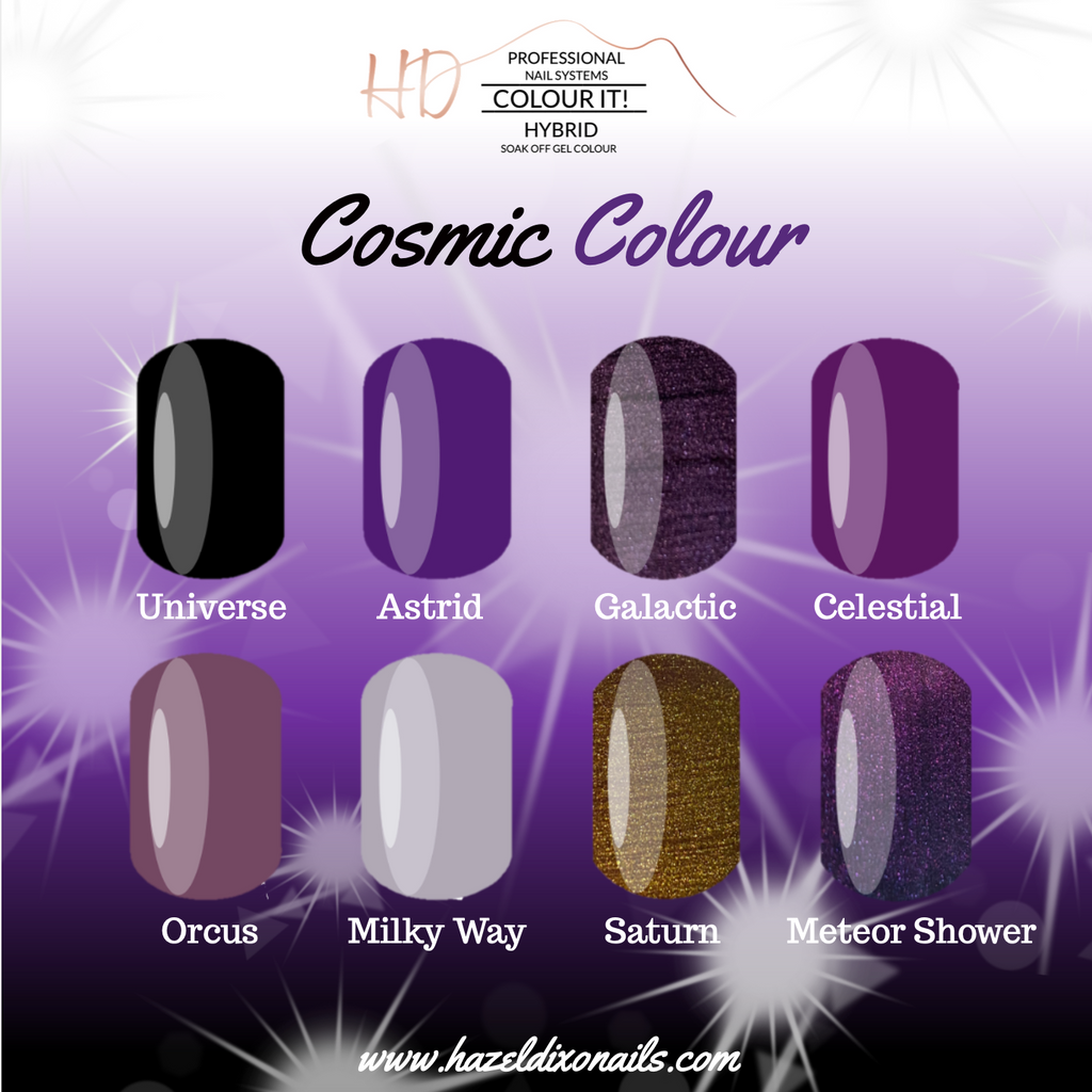 HD Colour It! HYBRID - Cosmic Colour Collection