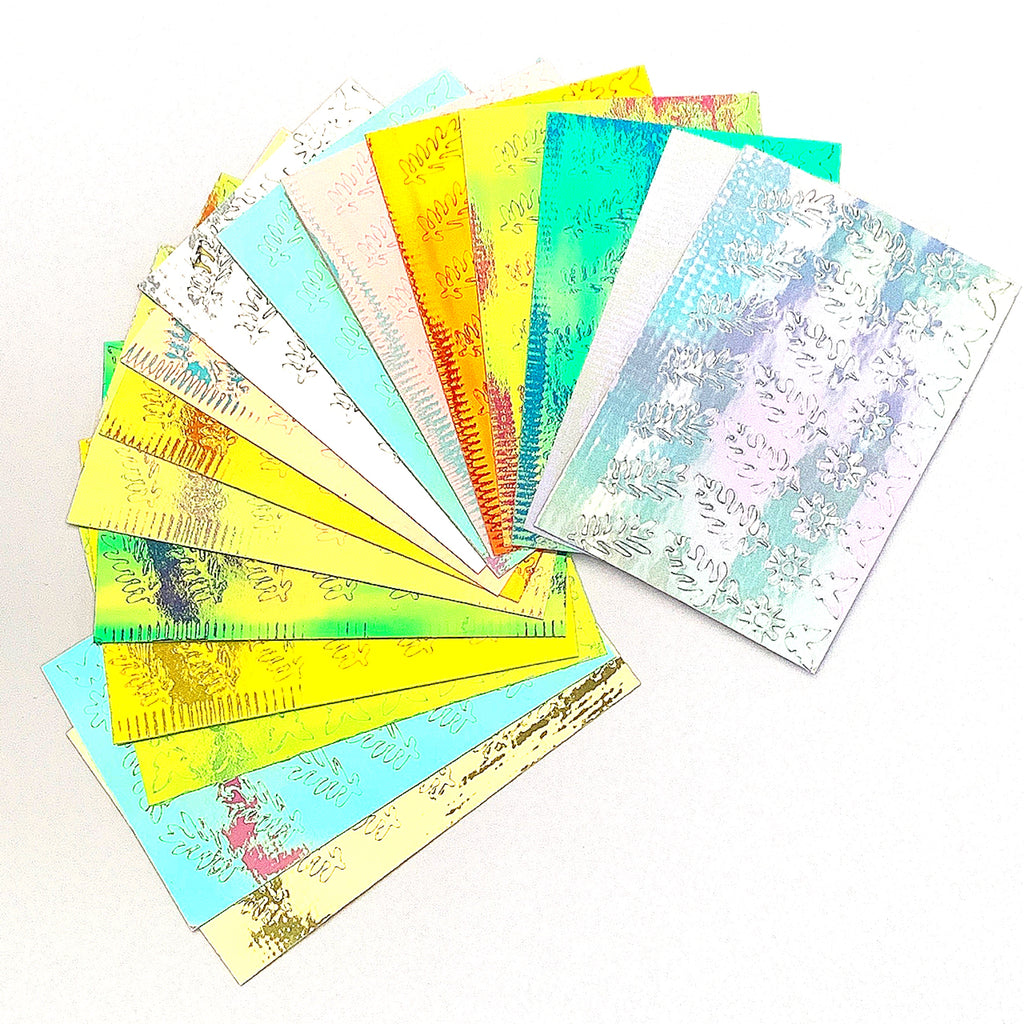 *NEW* Holographic Leaf & Flower Stickers