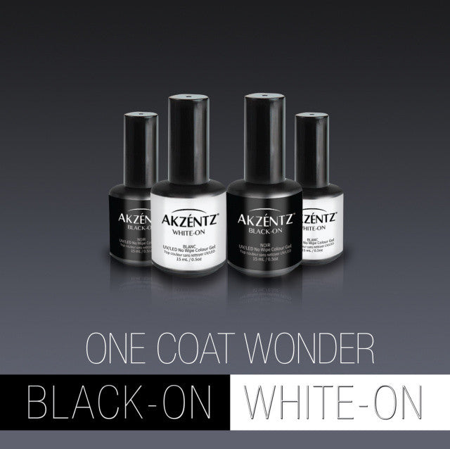 Black OR White, Shine on No Wipe Top Coat