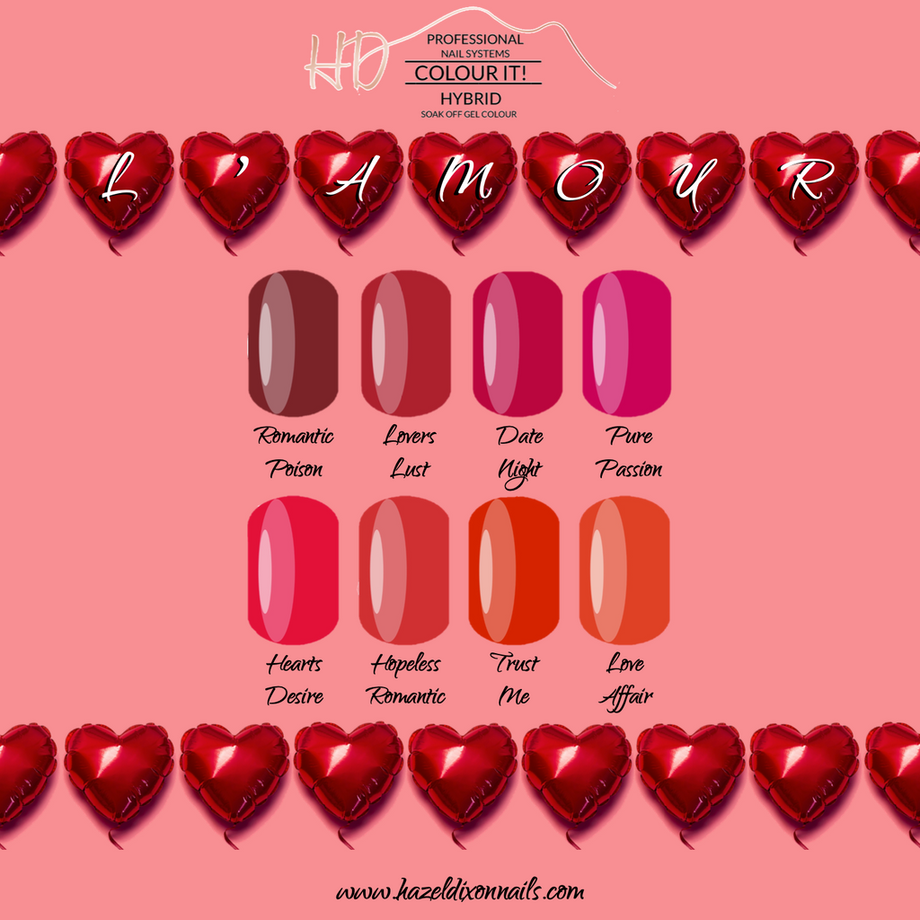 HD Colour It! HYBRID - L'amour Collection