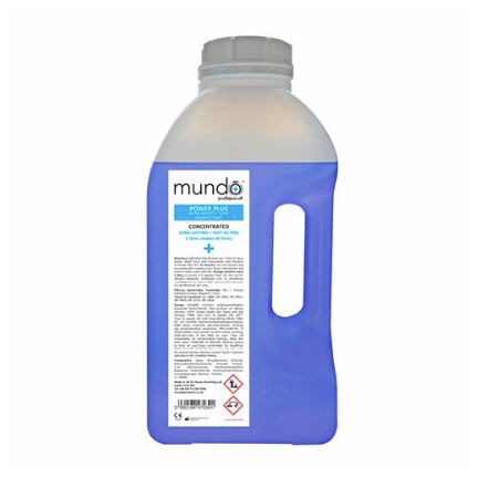 Mundo Power Plus Tool Disinfectant