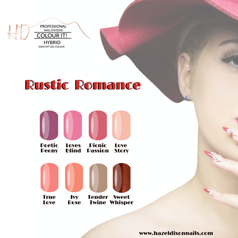 HD Colour It! HYBRID - Rustic Romance Collection
