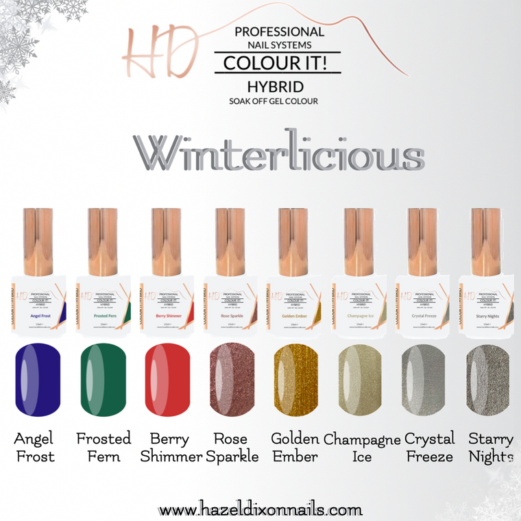 HD Colour It! HYBRID - Winterlicous Collection