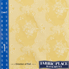 Flores Lace - Pale Gold