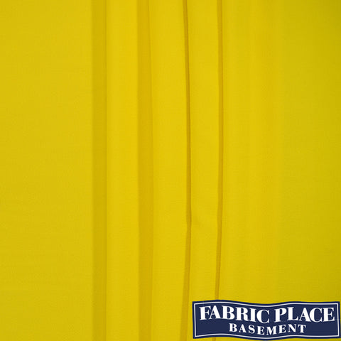 Acrylic Crepe - Yellow