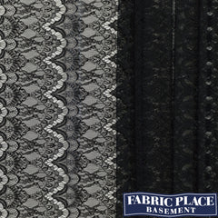 Polyester Lace - Black