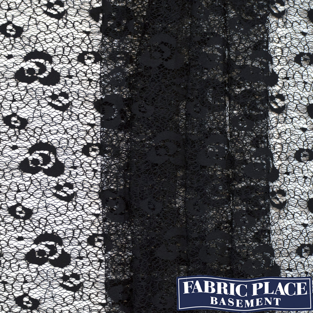Cotton Lace - Black