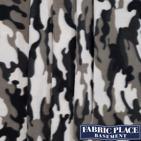 Polar Fleece - Urban Camo