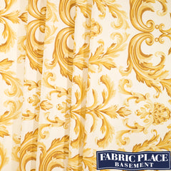 Fountainbleau on Silk - Gold
