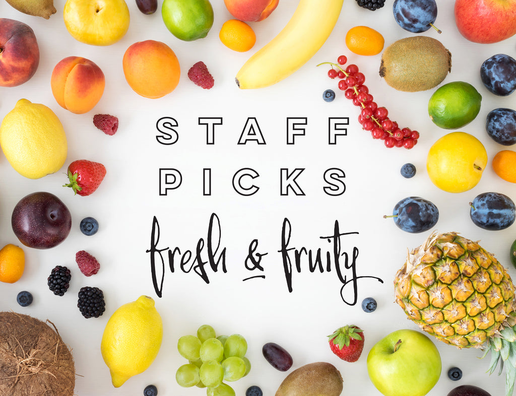 Staff Picks Fresh & Fruity Candle Scents