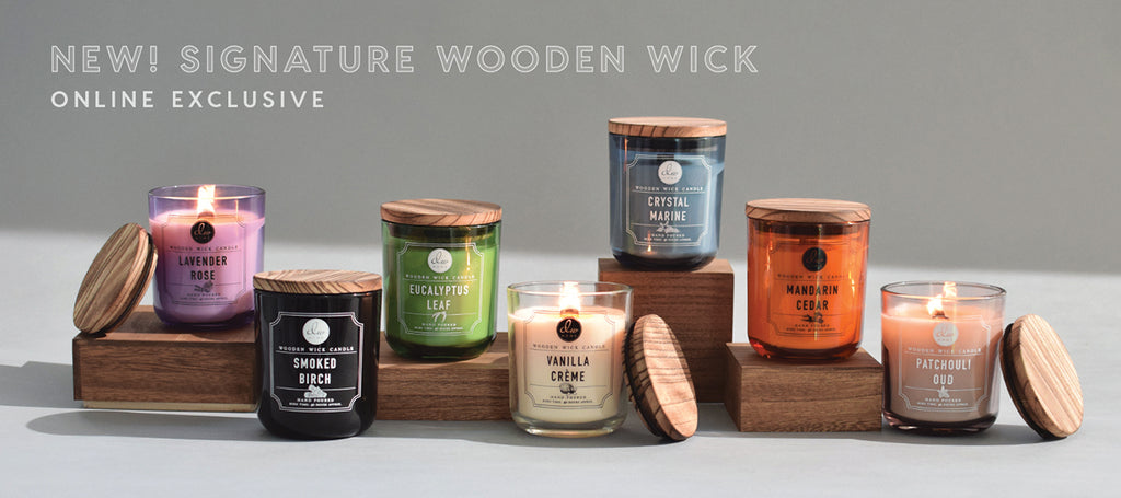 Web Exclusive! Signature Wooden Wick collection