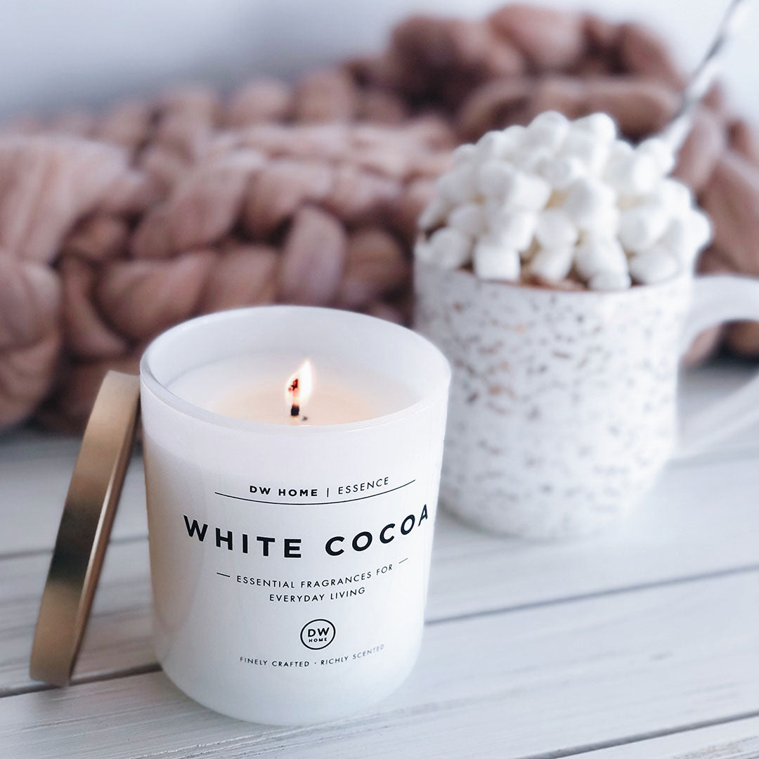 White Cocoa Candle