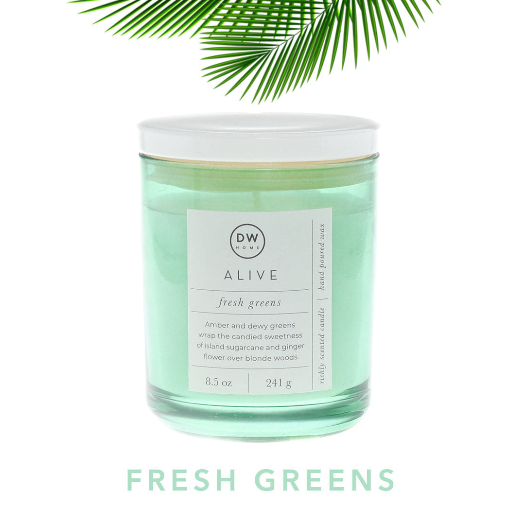 Fresh Greens Spa Candle Collection