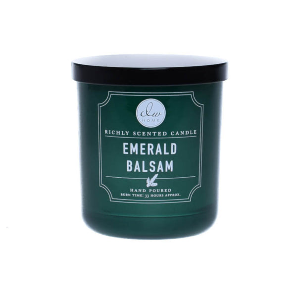 emerald balsam dw home scented candles dw6406 dw6410 dw6414 dw home candles. Black Bedroom Furniture Sets. Home Design Ideas