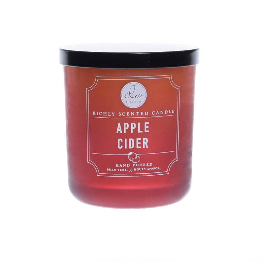 Apple Cider Single Wick Scented Jar Candle