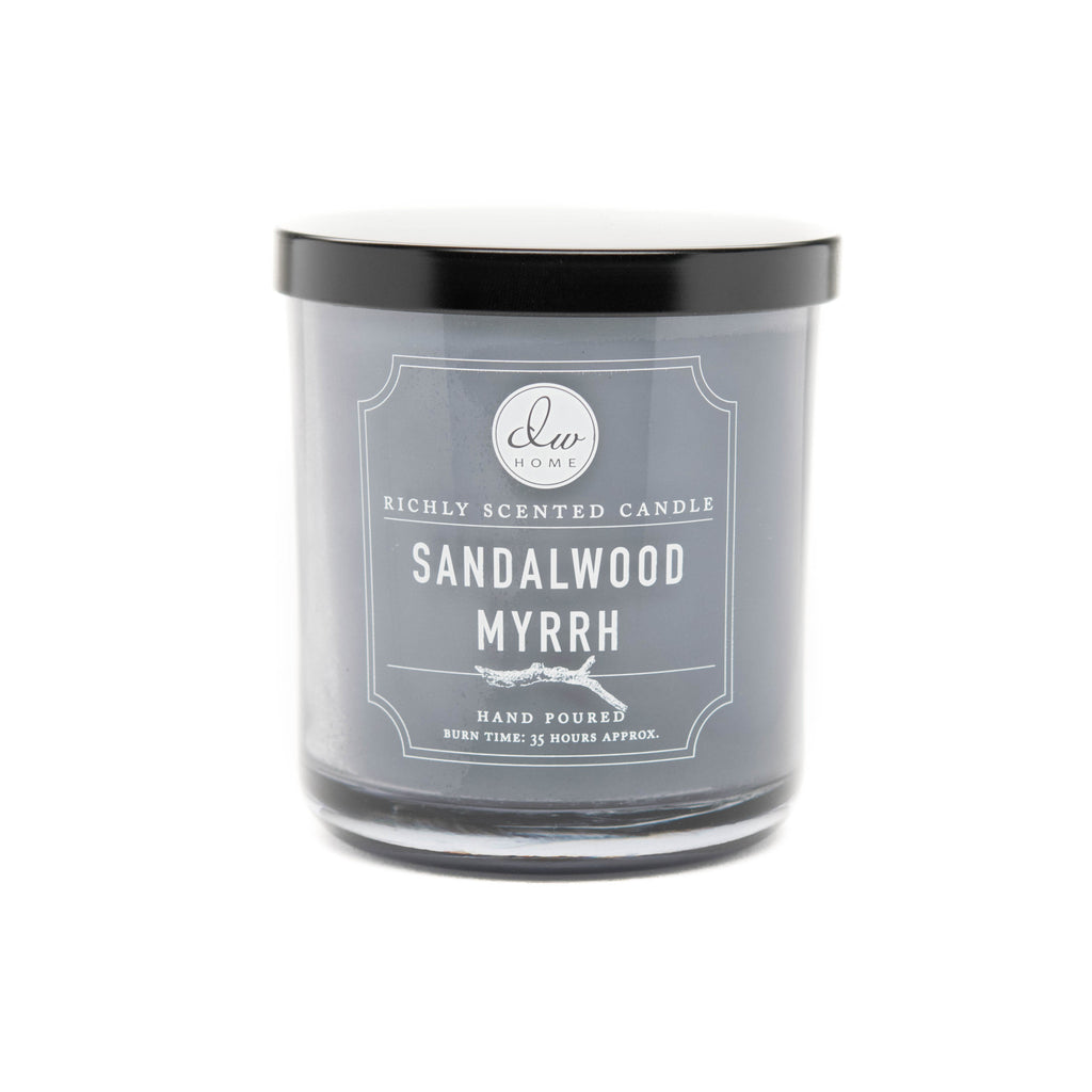 sandalwood myrrh dw home scented candles dw3489 dw3499. Black Bedroom Furniture Sets. Home Design Ideas