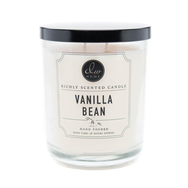 Vanilla Bean Dw Home Scented Candles Dw3481 Dw3491