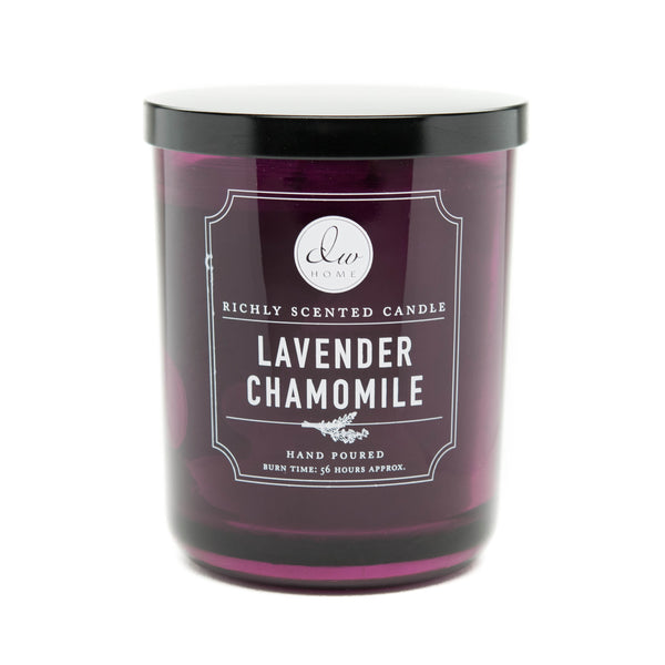 Lavender chamomile dw home scented candles dw3487 dw3497 for Top selling candle fragrances