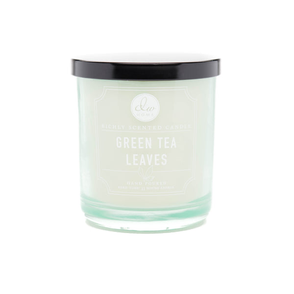green tea leaves dw home scented candles dw5100 dw5104 dw5108 dw home candles. Black Bedroom Furniture Sets. Home Design Ideas