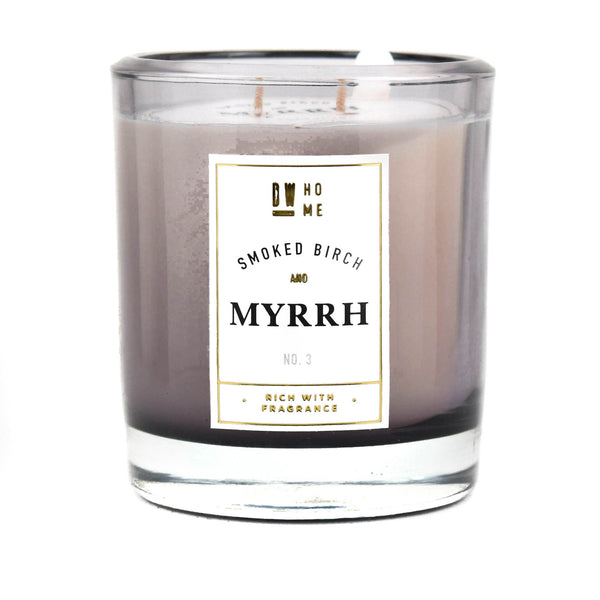 Smoked Birch and Myrrh