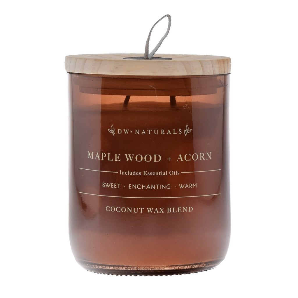 Maple Wood & Acorn