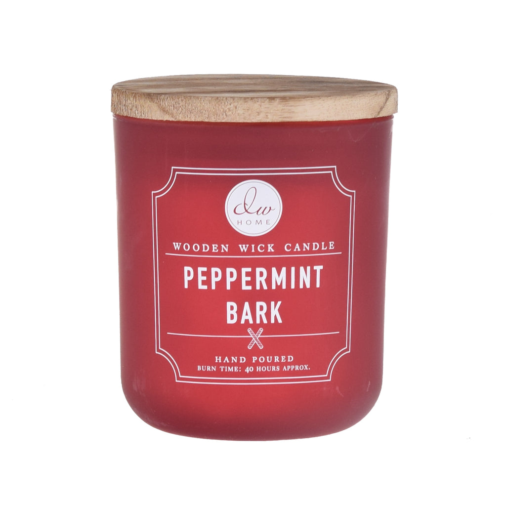 Peppermint Bark | WOODEN WICK CANDLE